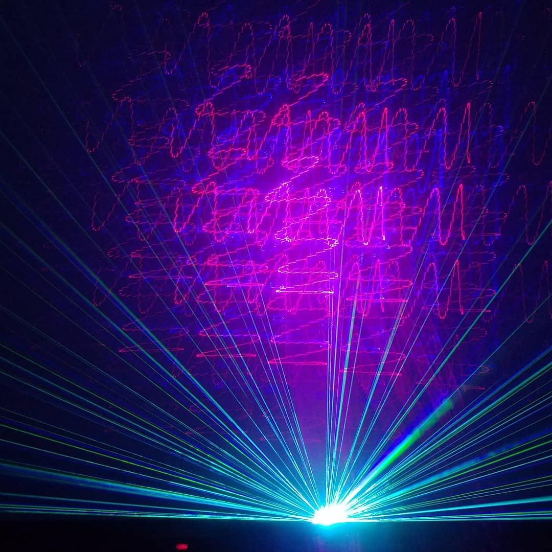 Pink Floyd Laser at the Strasenburgh Planetarium   Beyond