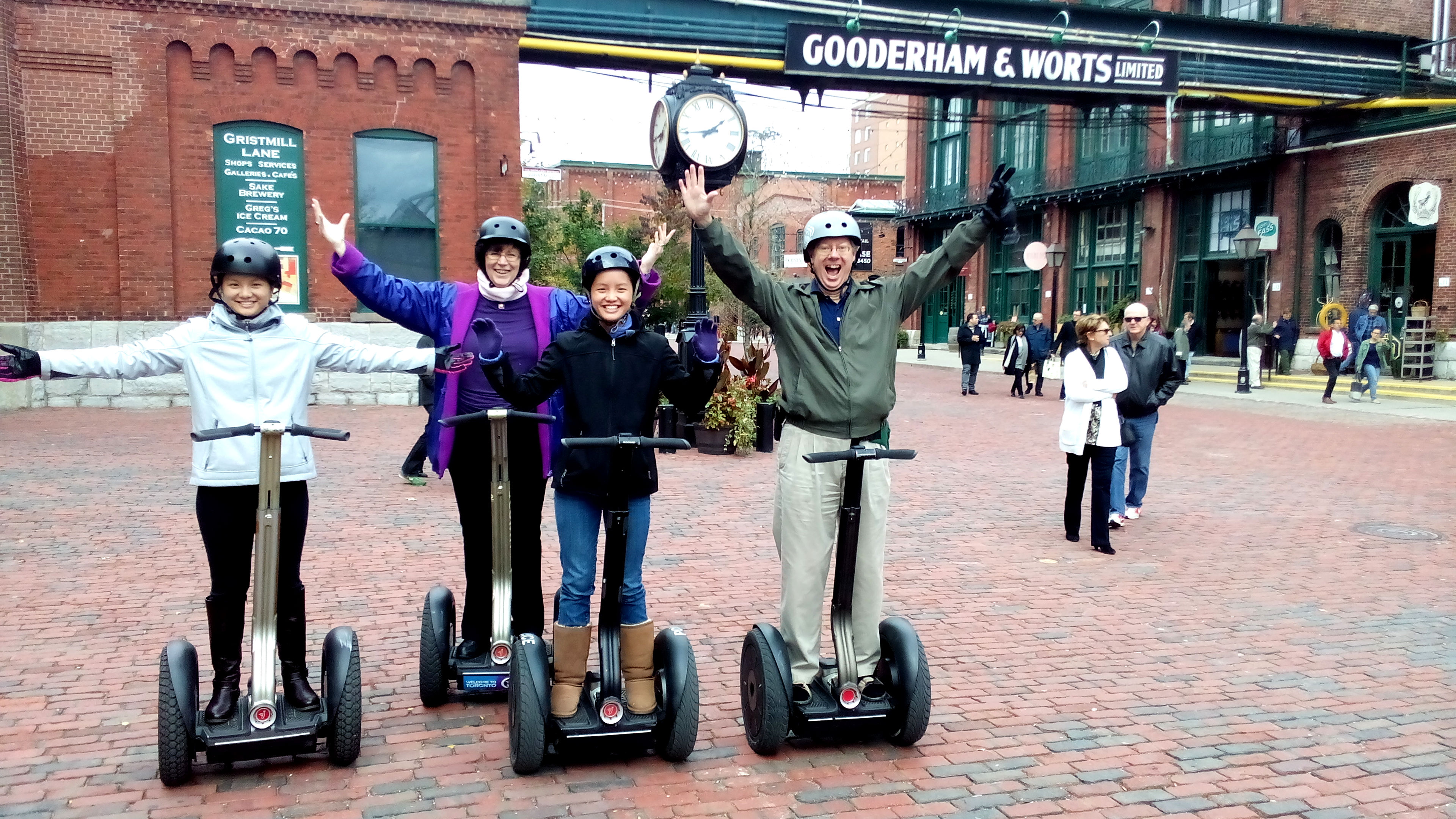 Llewellyn Family on Segway Tour