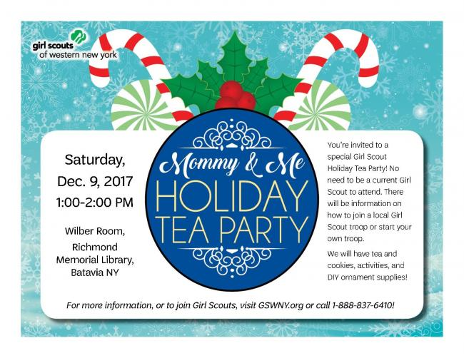 Mommy Me Holiday Tea Party