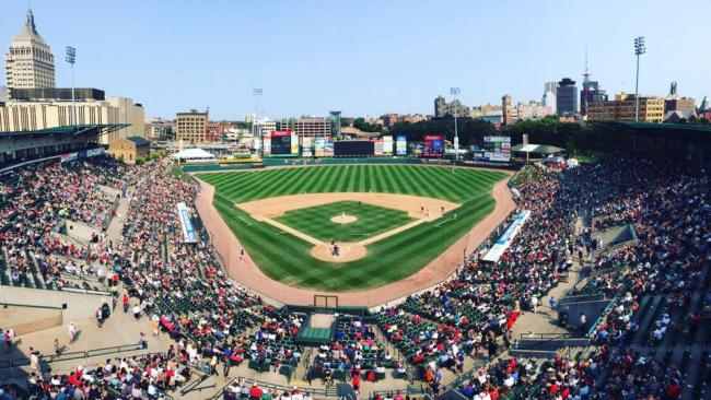 Opening Day for the Rochester Red Wings | Beyond the Nest (Rochester)